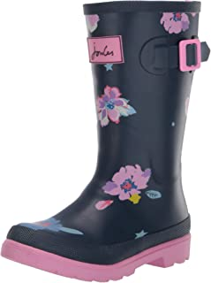 Joules Kids' Jnr Welly Print Rain Boot