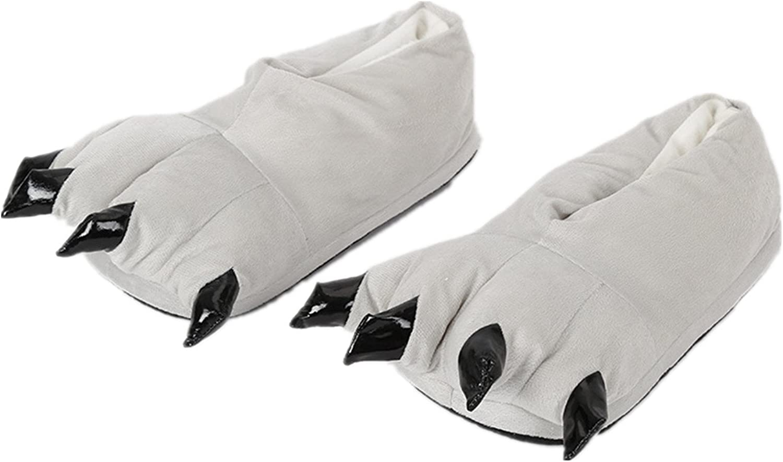 FUNCOS Plush Warm House shoes Animal Feet Slippers Costume