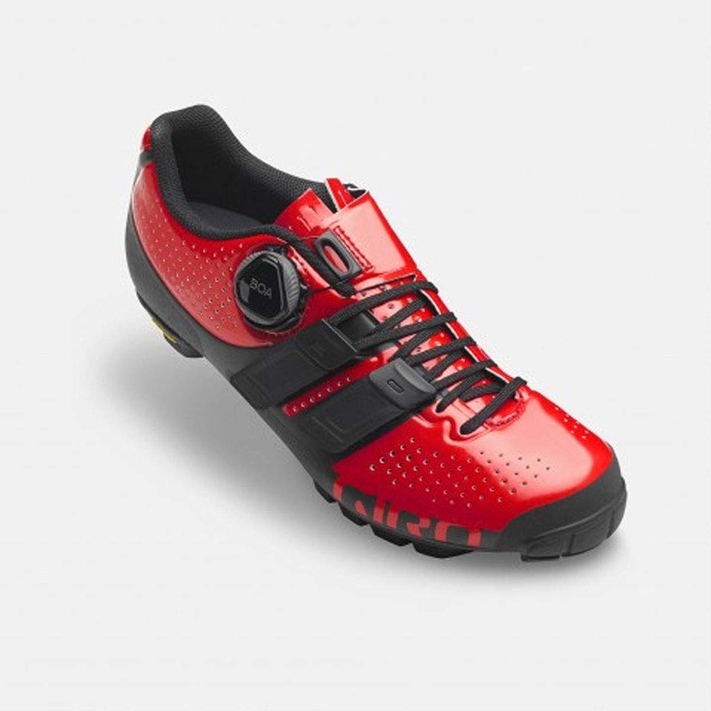 Giro 2019 Kvinnors SICA Techlace Techlace Techlace Cycling skor - Bright röd  svart  100% fri frakt