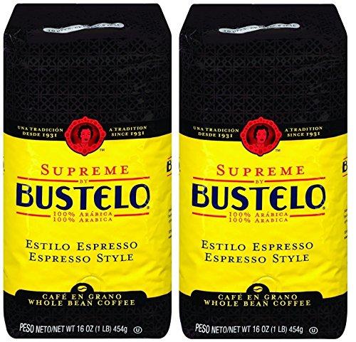 Cafe Bustelo Supreme Whole Bean Espresso Coffee