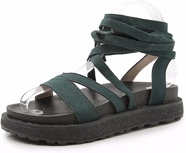 Gusha Fashion New Sandals Fashion Strappy Platform shoes Women's Casual shoes