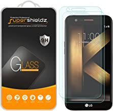 [2-Pack] Supershieldz for LG K20 Plus Tempered Glass Screen Protector with Lifetime Replacement