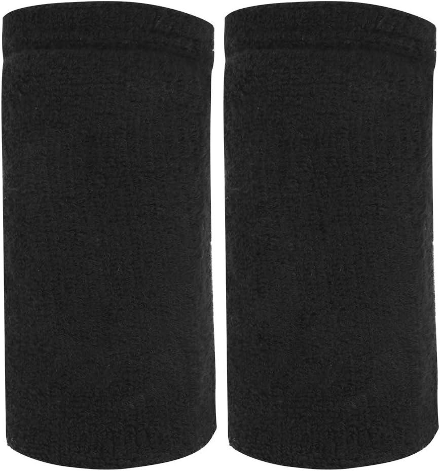 OhhGo 1Pair Portable Weights Sacramento Mall Wrist Towel Sweat Guard Brac favorite Absorb
