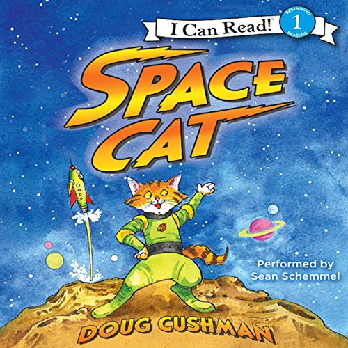 Space Cat audiobook cover art