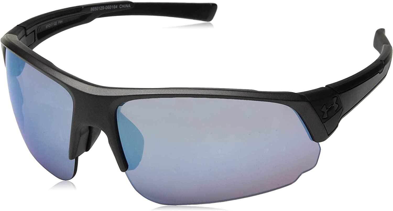 Under Armour Changeup Dual Satin Carbon W Tuned Baseball Blue Lens (8650129-060164)