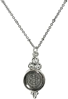 VSA Designs - Virgins Saints and Angels San Benito Lucia Charm in Silver