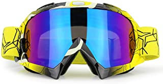 JAMIEWIN Adult Motorcycle Motocross Goggles ATV Racing...