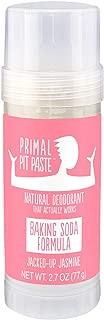 Primal Pit Paste All-Natural Deodorant - Aluminum & Paraben Free - Jasmine Deodorant Stick