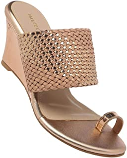 Haute Curry by Shoppers Stop Womens Slipon Wedges