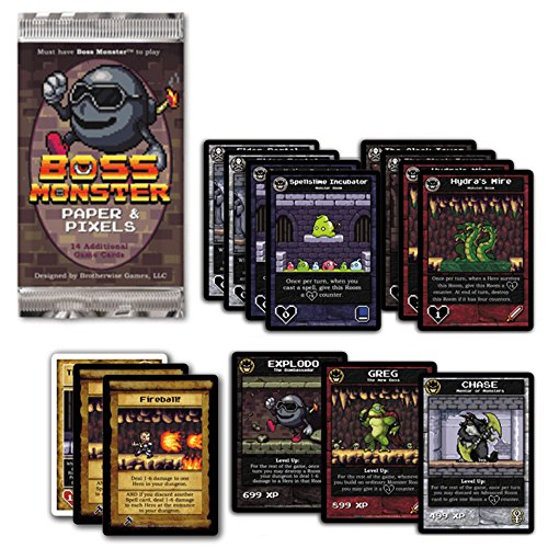 Brotherwise Games Boss Monster: Papel y Pixeles.