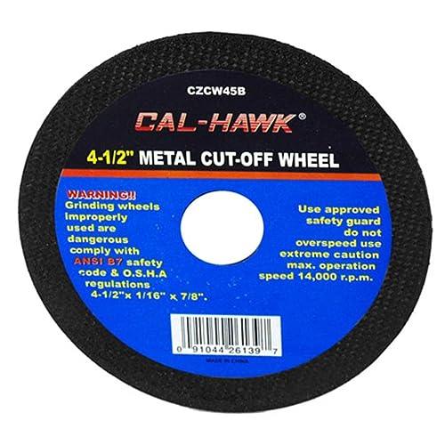 50 Pack 3 Cut Off Wheels Cal Hawk
