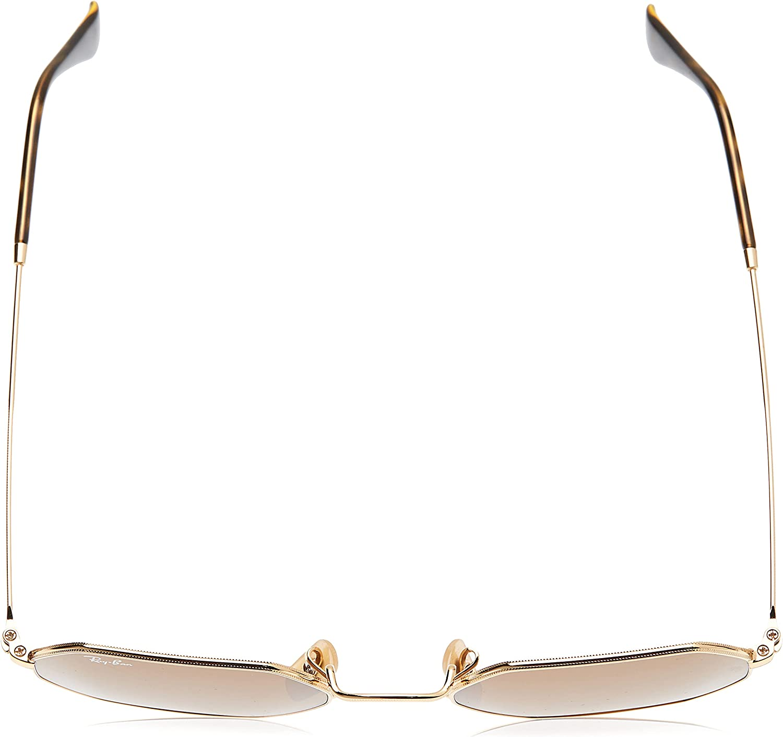 Ray-Ban Womens Rb3556n Octagonal Sunglasses
