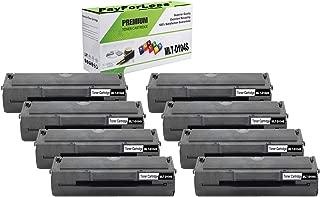 PayForLess Toner Cartridge MLT-D104S 104S Black 8PK Compatible for Samsung ML-1665 1860 1865W 1660 1661 1660K 1665K 1661K 1670 1676 1677 1675 SCX-3200 3217 3210 3205W