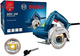 Serra Mármore a seco Bosch GDC 150 TITAN 1500W 220V, com 1 Disco