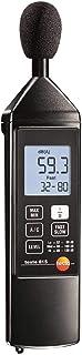 Testo 0563 8155 Medidor de Nivel de Sonido, Incluyendo Un Destornillador Para La Calibración, Protección Contra El Viento y Cargadores