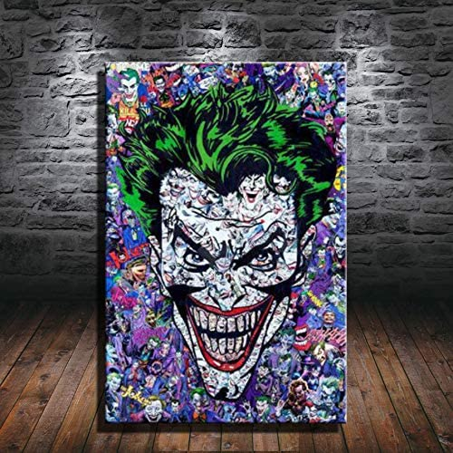 Hero The Batman Joker Poster Picture All stores are sold Canvas Art A Print service Wall
