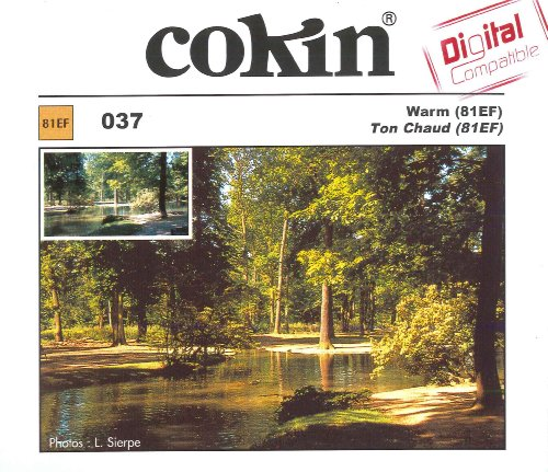 Cokin Square Warm 81EF (Z037) - 2/3-Stop for L (Z) Series Holder - 100mm X 100mm