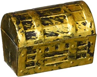 US Toy Dozen Mini Pirate Gold Treasure Chests