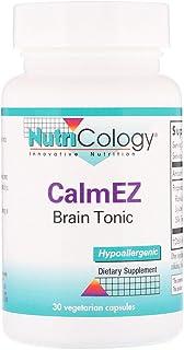NutriCology CalmEZ Brain Tonic 30 Vegetarian Capsules