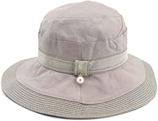 Sun Hat for men and women Harajuku Women's Bucket Cap Outdoor Fishing Panama Summer Hat Fisherman Hat Pearl Topee