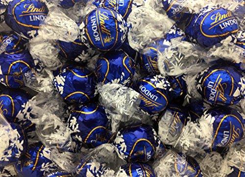 Lindt Lindor Dark Chocolate Truffles, Blue Wrap (Pack of 2 Pounds)