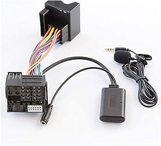 ZHANGHONGWEI Bluetooth 5.0 AUX Input Audio Adapter Fit for BMW E60 E61 E63 E64 E87 E88 E81 E82 E90 E91 E92 E93 Handsfree P...