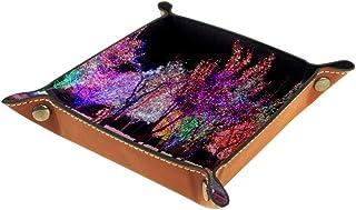 Desheze Arbre à Paillettes (2) Boîte de Rangement Pliable Stockage Boîte Maquillage Bijoux Jouets Papeterie Organisateur P...