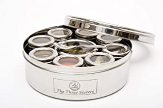 the three sisters masala dabba spice box