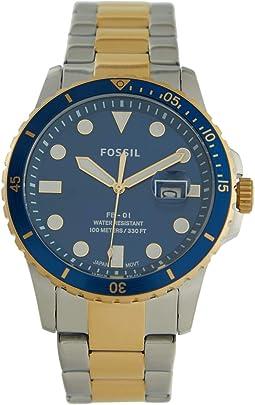 FB-01 Three-Hand Date Stainless Steel Watch - FS5742