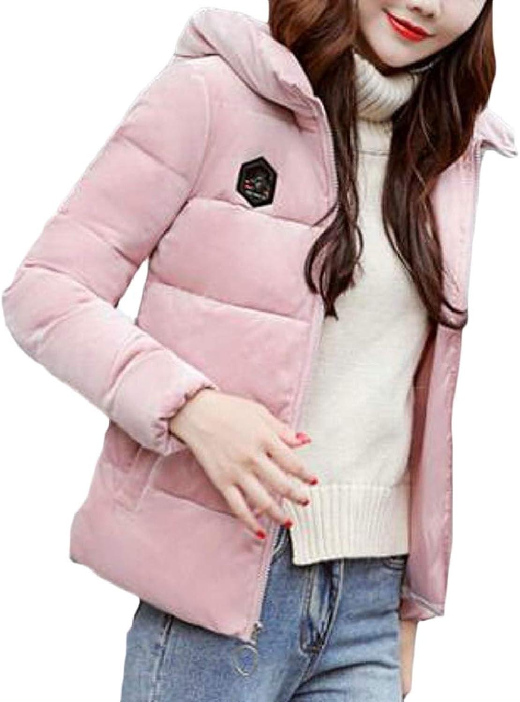 RGCA Womens Casual Puffer Packable Lightweight Hoodie Down Jacket Coats