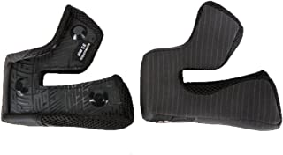 Bell Moto-9 Cheek Pads (Black, 30mm)
