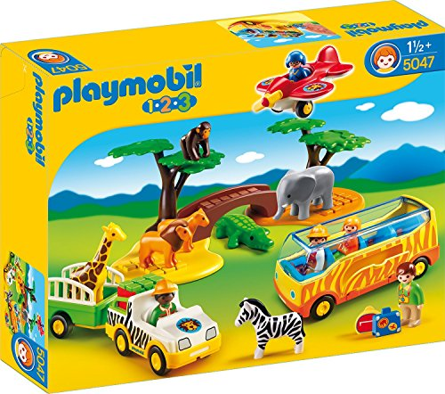 Playmobil - 5047 - Jeu de Construction - Coffret Animaux de la Savane...
