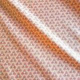 Werthers Stoffe Stoff Meterware wasserdicht Waben rosa