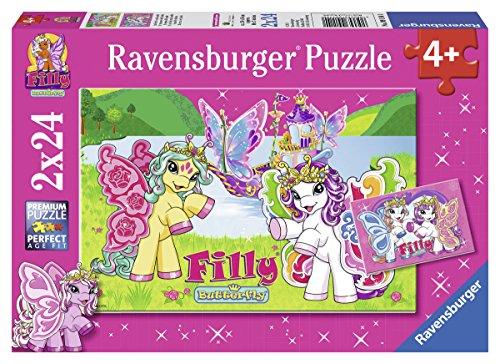 Ravensburger 09114 Filly: Im Reich von Scarlet, 2 x 24 Teile Puzzle