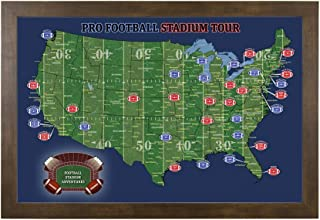Best map of all nfl football stadiums Reviews