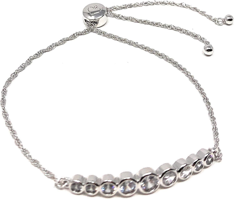 Kate Spade Full Circle Bezel Bolo Crystal Slider New product Import type Bracelet Set