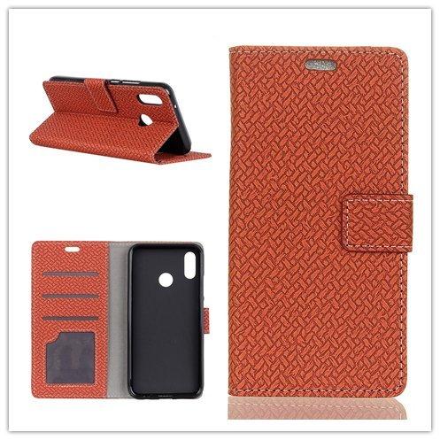 Funda® Flip Portefeuille Coque pour ASUS Zenfone 5 ZE620KL/Asus Zenfone 5z ZS620KL (Marron)