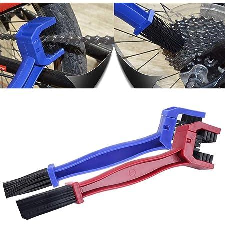 Mmobiel 4 X Motorrad Fahrrad Kette Und Gangschaltung Getriebe Zahnräder Bürste Reinigung Werkzeug Sport Freizeit