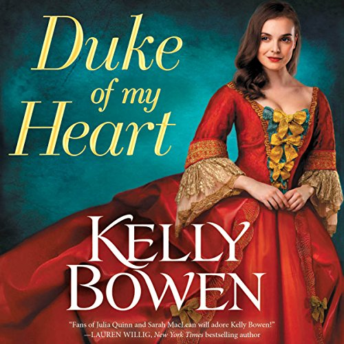 Duke of My Heart audiobook cover art