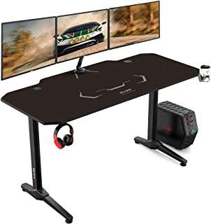 Auag 55 Inch Racing Style Gaming Desk