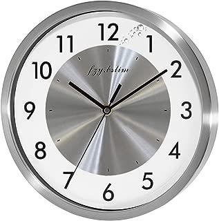 Best brushed nickel clock Reviews