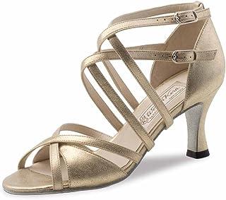 Werner Kern - Mujeres Zapatos de Baile Eva - Cuero Plateado - 6,5 cm