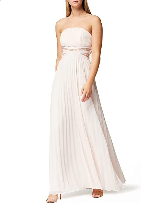 TRUTH & FABLE Women's Lace Insert Maxi Dress