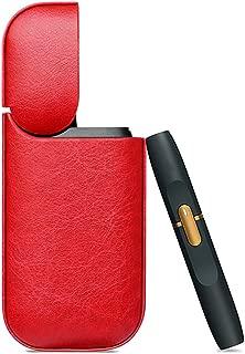 Laurige,mini custodia in pelle turchese per sigarette elettroniche