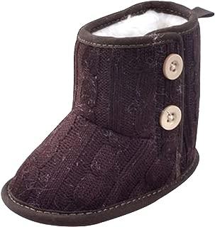 : Marron Bottines Chaussures bébé fille