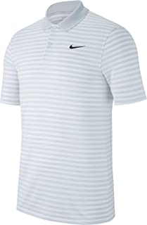 Mens Dry Victory Polo Stripe Left Chest