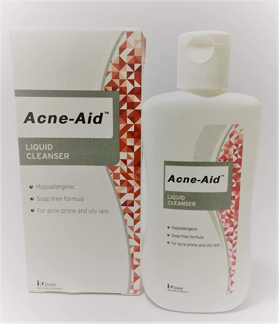水を飲む病なアイデアAcne Aid液体クレンザー100 ml。(1 box)