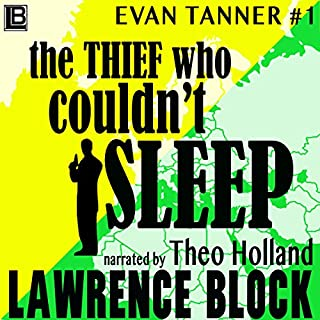 The Thief Who Couldn't Sleep audiobook cover art
