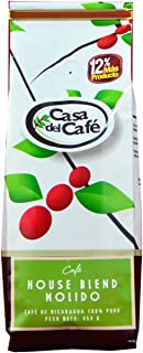 Casa del Cafe Ground House Blend Coffee, 16 Ounce Bag - from Nicaragua