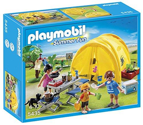 PLAYMOBIL Vacaciones - Tienda de campaña Familiar (5435